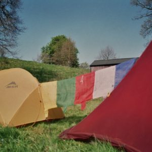Tent and flags72